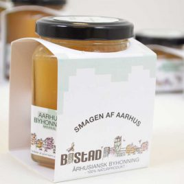 Bistad honning stor