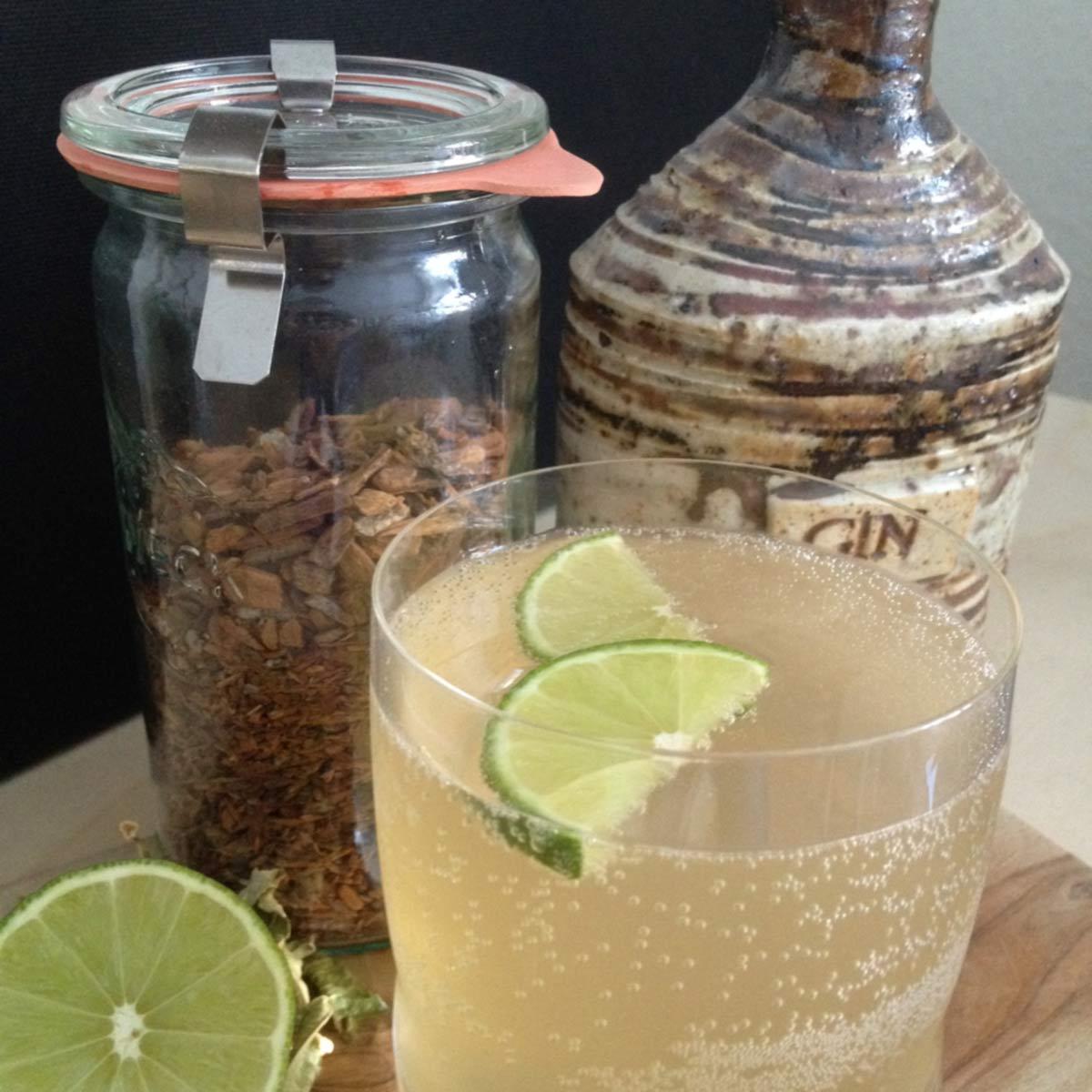 """""""Honic Water"""": Hjemmelavet tonicvand med honning"""
