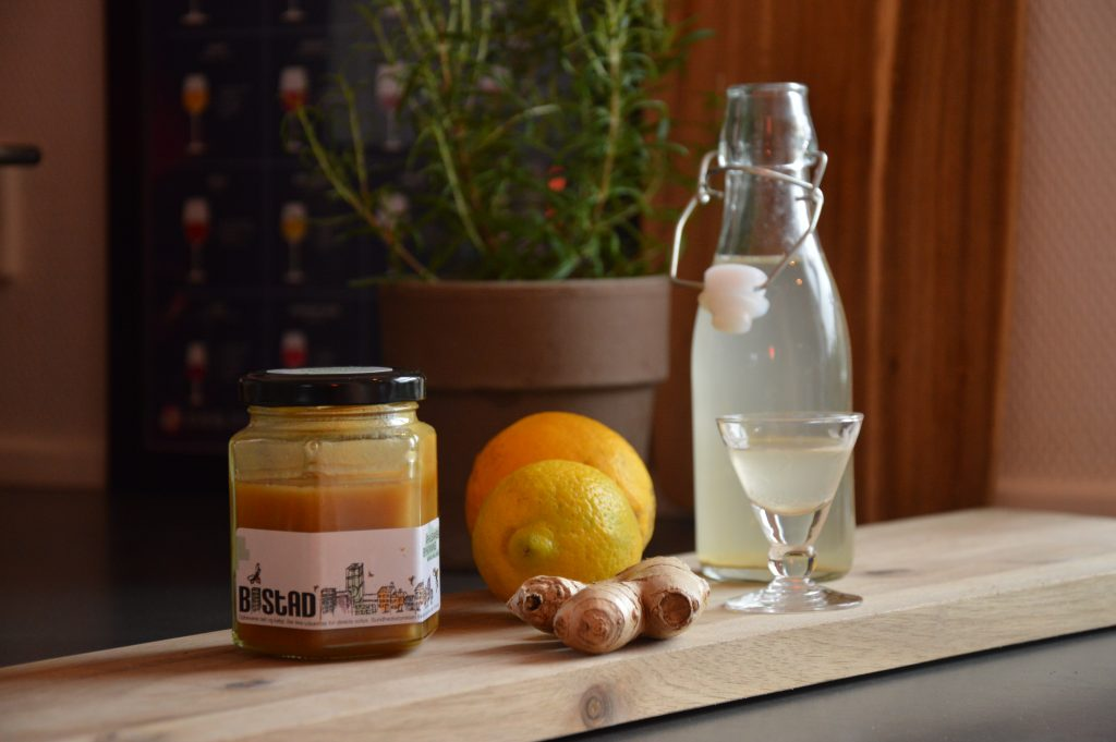 Opskrift på ingefær short med BISTAD honning